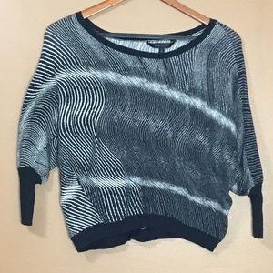 BCBG Max Azria Cropped Stretch Sweater Size S